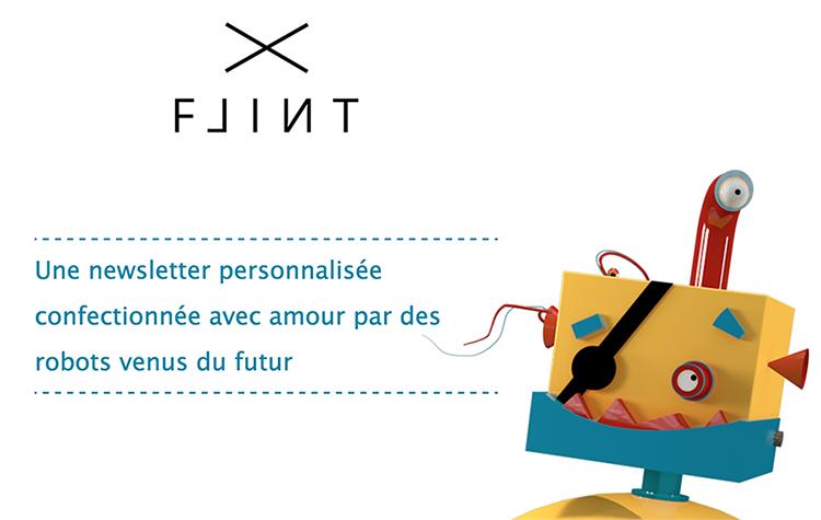 Flint – Une newsletter personnalisée