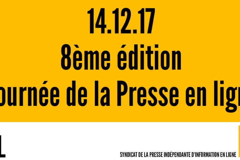 8ème édition de la «Journée de la Presse en ligne» – #JPEL